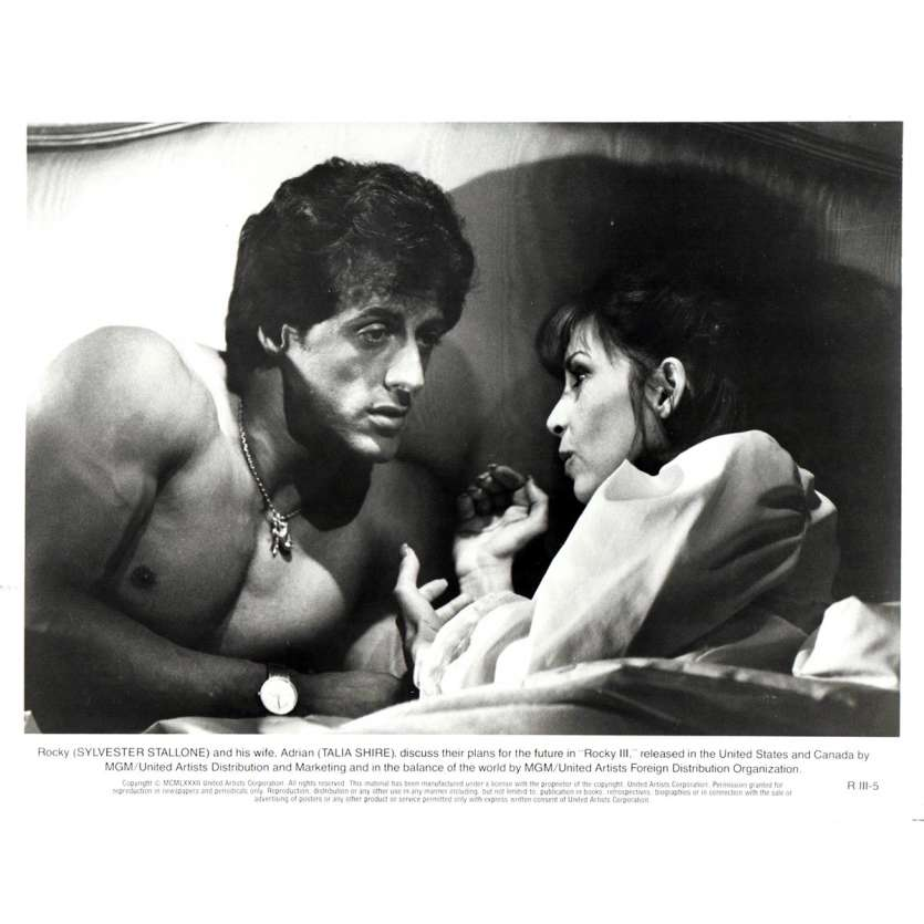 ROCKY 3 Movie Still N04 8x10 in. - 1982 - Sylvester Stallone, Mr. T