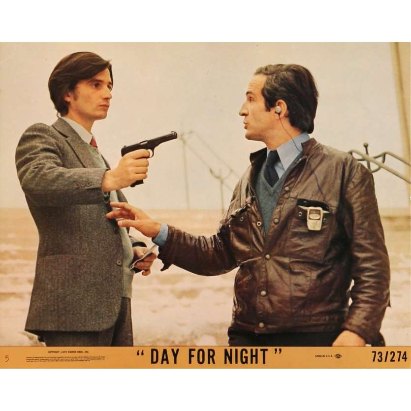DAY FOR NIGHT Lobby Card N03 8x10 in. - 1974 - François Truffaut, Jacqueline Bisset
