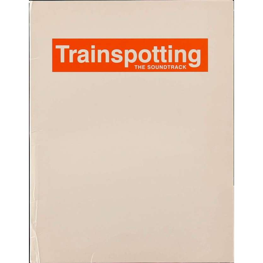 TRAINSPOTTING Pressbook 9x12 in. - 1996 - Danny Boyle, Ewan McGregor