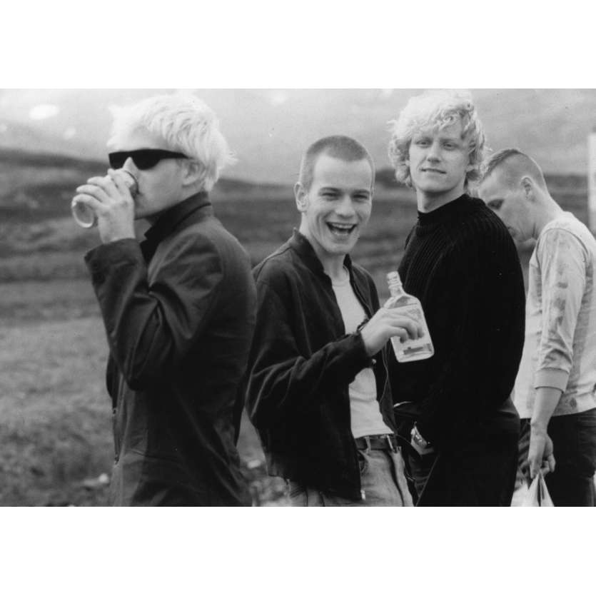 TRAINSPOTTING Movie Still N02 6x8 in. - 1996 - Danny Boyle, Ewan McGregor