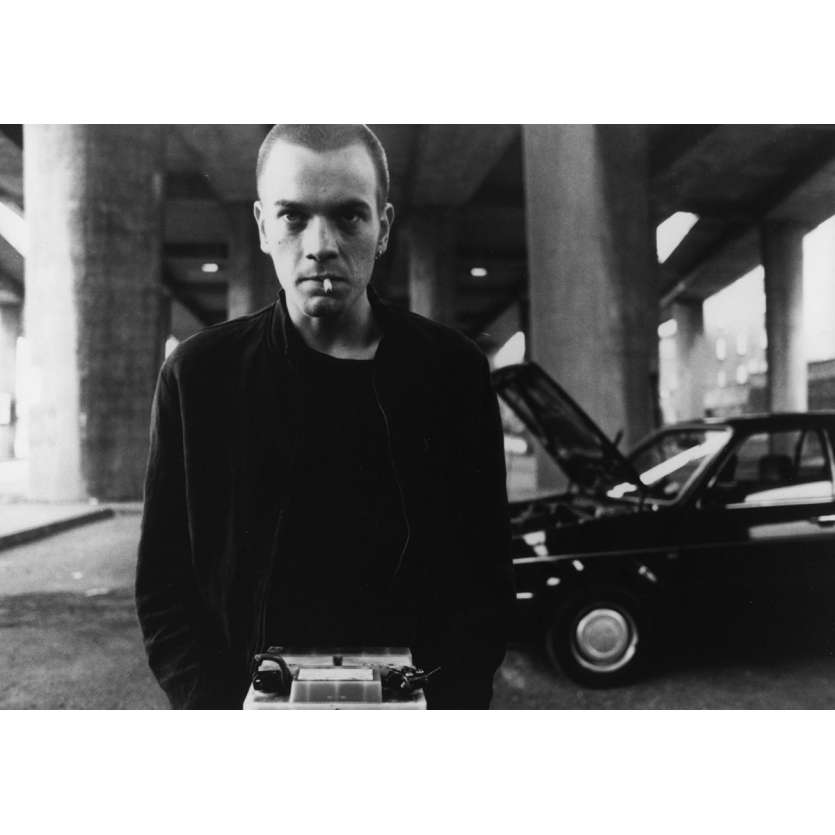 TRAINSPOTTING Photo de presse N04 15x20 cm - 1996 - Ewan McGregor, Danny Boyle