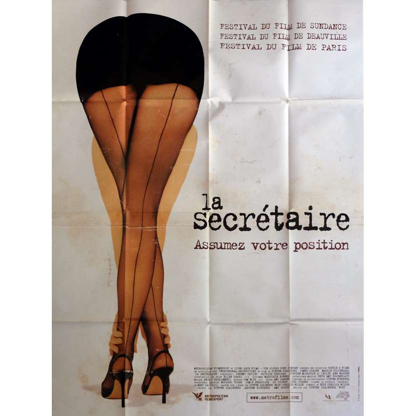 SECRETARY Movie Poster 47x63 in. - 2002 - Steven Shainberg, Maggie Gyllenhaal