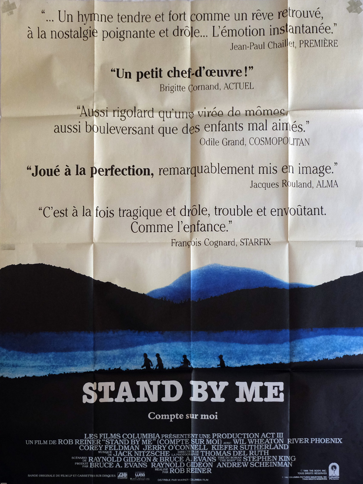 "stand by me by rob reiner Rob reiner on his favorite films  rob reiner: people always ask me ""what's your favorite"" but stand by me."