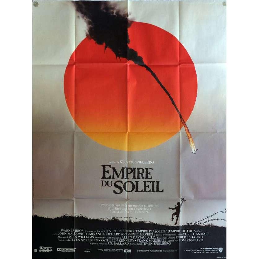 L'EMPIRE DU SOLEIL Affiche de film 60x160 cm - 1987 - Christian Bale, Steven Spielberg