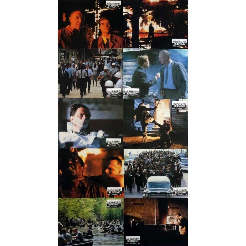 MISSISSIPI BURNING Photos de film x10 21x30 cm - 1988 - Gene Hackman, Alan Parker