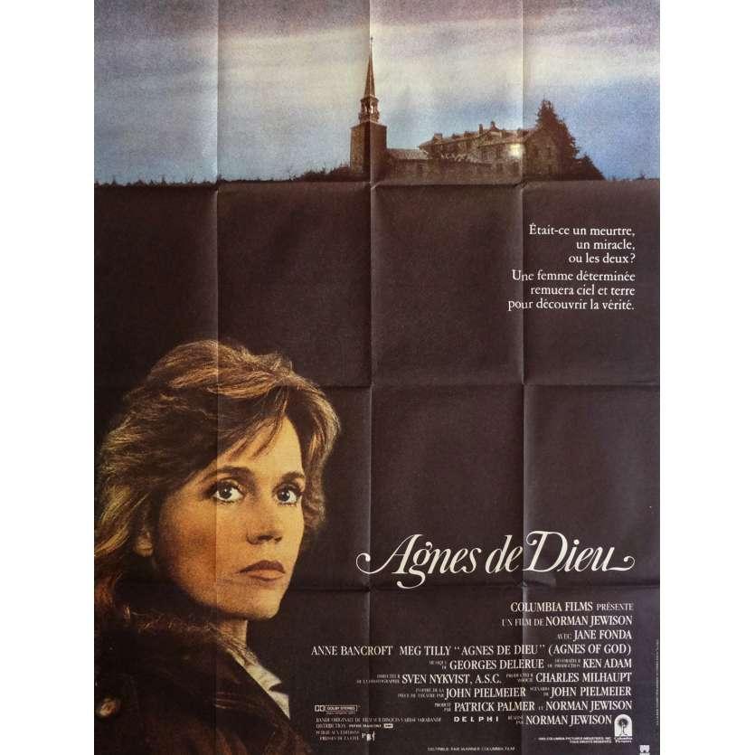 AGNES DE DIEU Affiche de film 120x160 cm - 1985 - Jane Fonda, Norman Jewison