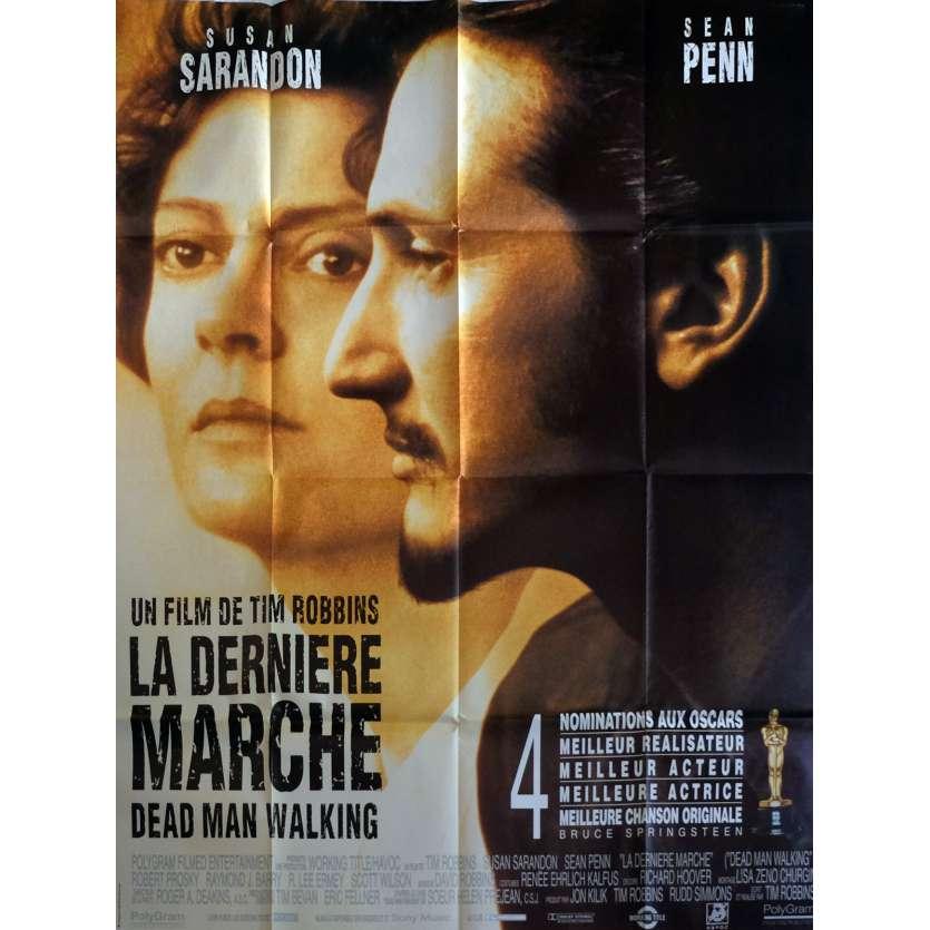 LA DERNIERE MARCHE Affiche de film 120x160 cm - 1995 - Susan Sarandon, Tim Robbins