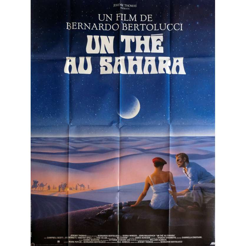 THE SHELTERING SKY Movie Poster 47x63 in. - 1990 - Bernardo Bertolucci, John Malkovich