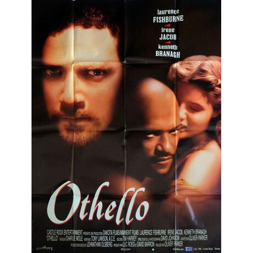 OTHELLO Affiche de film 120x160 cm - 1952 - 0, Orson Welles