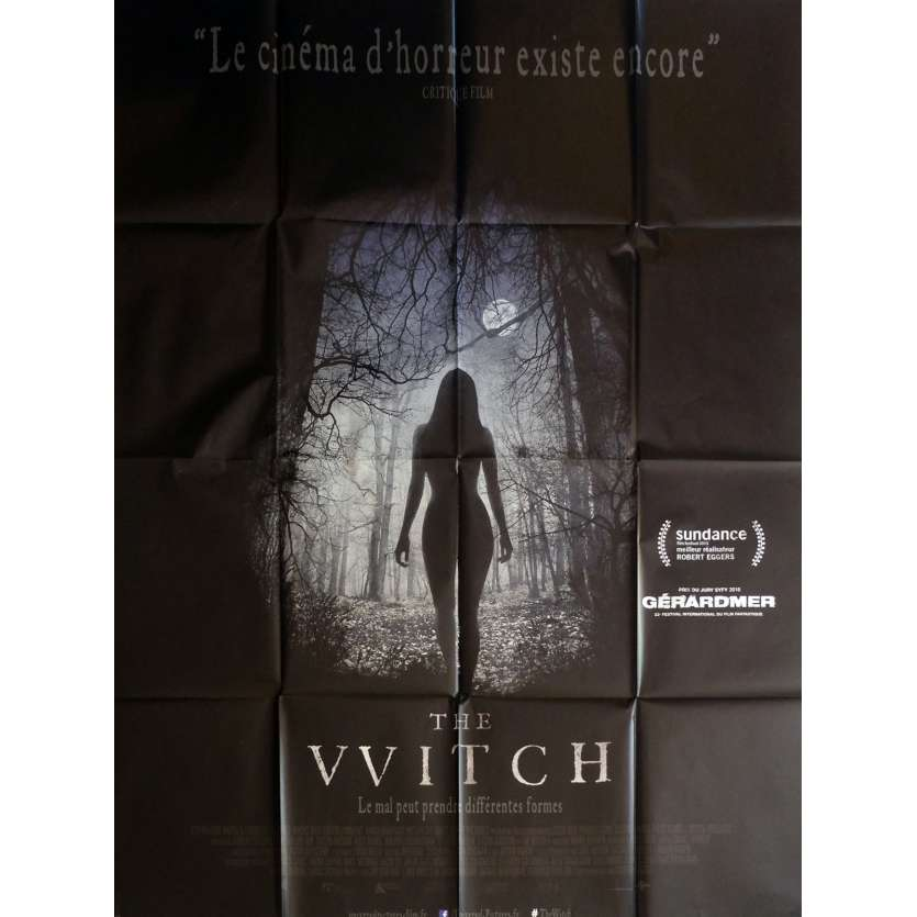 THE WITCH Affiche de film 120x160 cm - 2016 - Anya Taylor-Joy, Robert Eggers