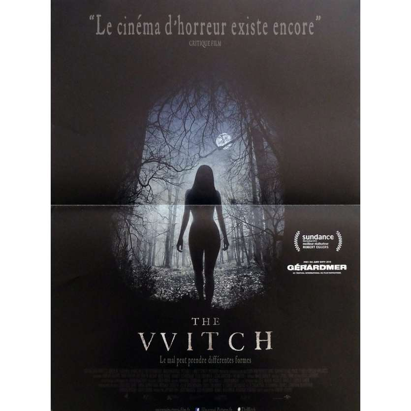 THE WITCH Affiche de film 40x60 cm - 2016 - Anya Taylor-Joy, Robert Eggers