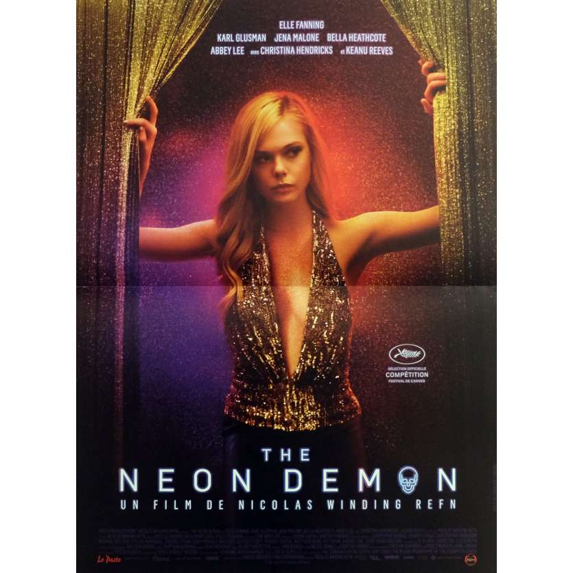 THE NEON DEMON Movie Poster 15x21 in. - 2016 - Nicolas Winding Refn, Elle Fanning