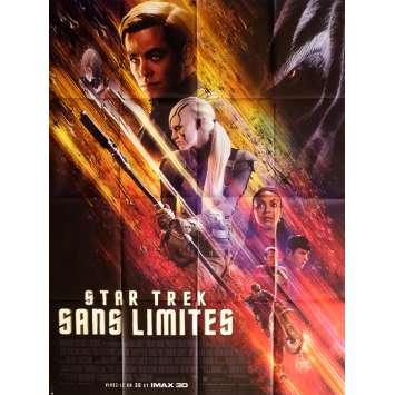 STAR TREK SANS LIMITES Affiche de film 120x160 cm - 2016 - Anton Yelchin, Justin Lin