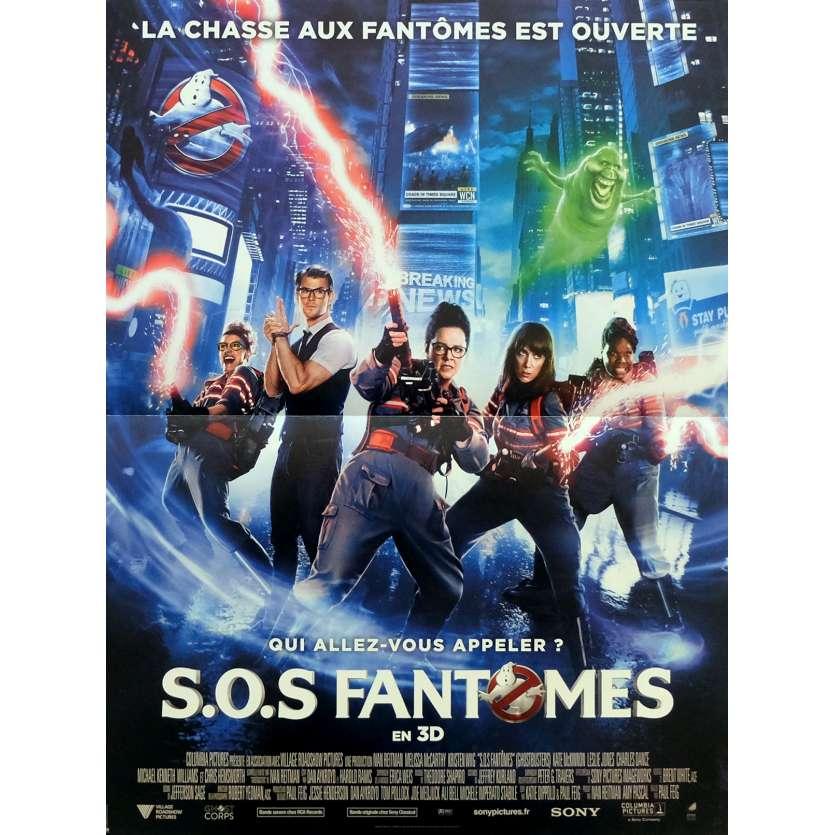 S.O.S FANTOMES Affiche de film 40x60 cm - 2016 - Melissa McCarthy, Paul Feig