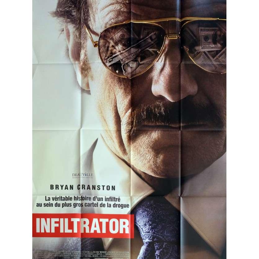 INFILTRATOR Affiche de film 120x160 cm - 2016 - Bryan Cranston, Brad Furman