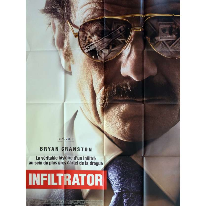 THE INFILTRATOR Movie Poster 47x63 in. - 2016 - Brad Furman, Bryan Cranston