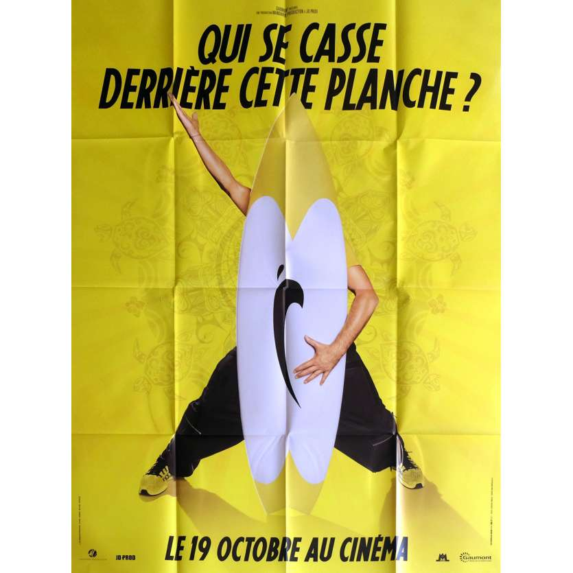 BRICE DE NICE Movie Poster Prev. 47x63 in. - 2005 - James Huth, Jean Dujardin
