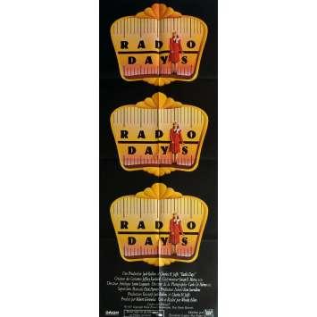 RADIO DAYS Affiche de film 60x160 cm - 1987 - Mia Farrow, Woody Allen