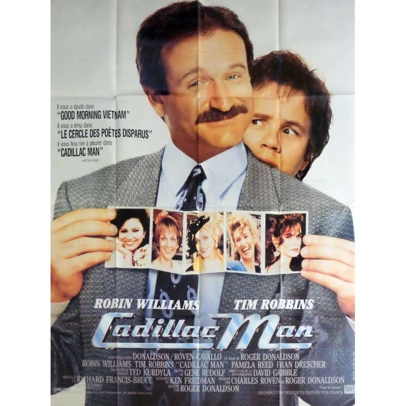 CADILLAC MAN Movie Poster 47x63 in. - 1990 - Roger Donaldson, Robin Williams