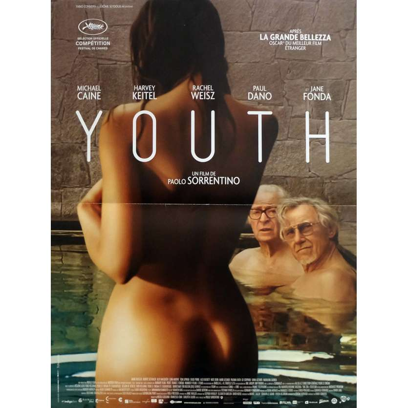 YOUTH Movie Poster 15x21 in. - 2015 - Paolo Sorrentino, Michael Caine, Harvey Keitel