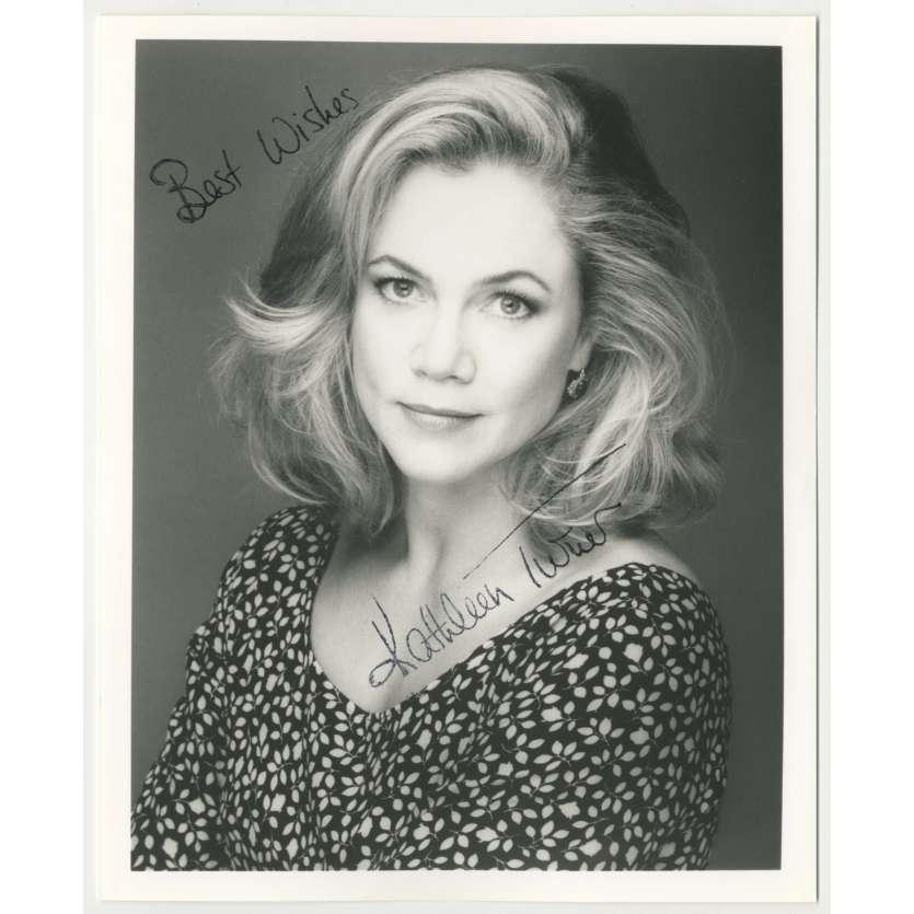 KATHLEEN TURNER Photo signée - 20x25 cm - 1980's