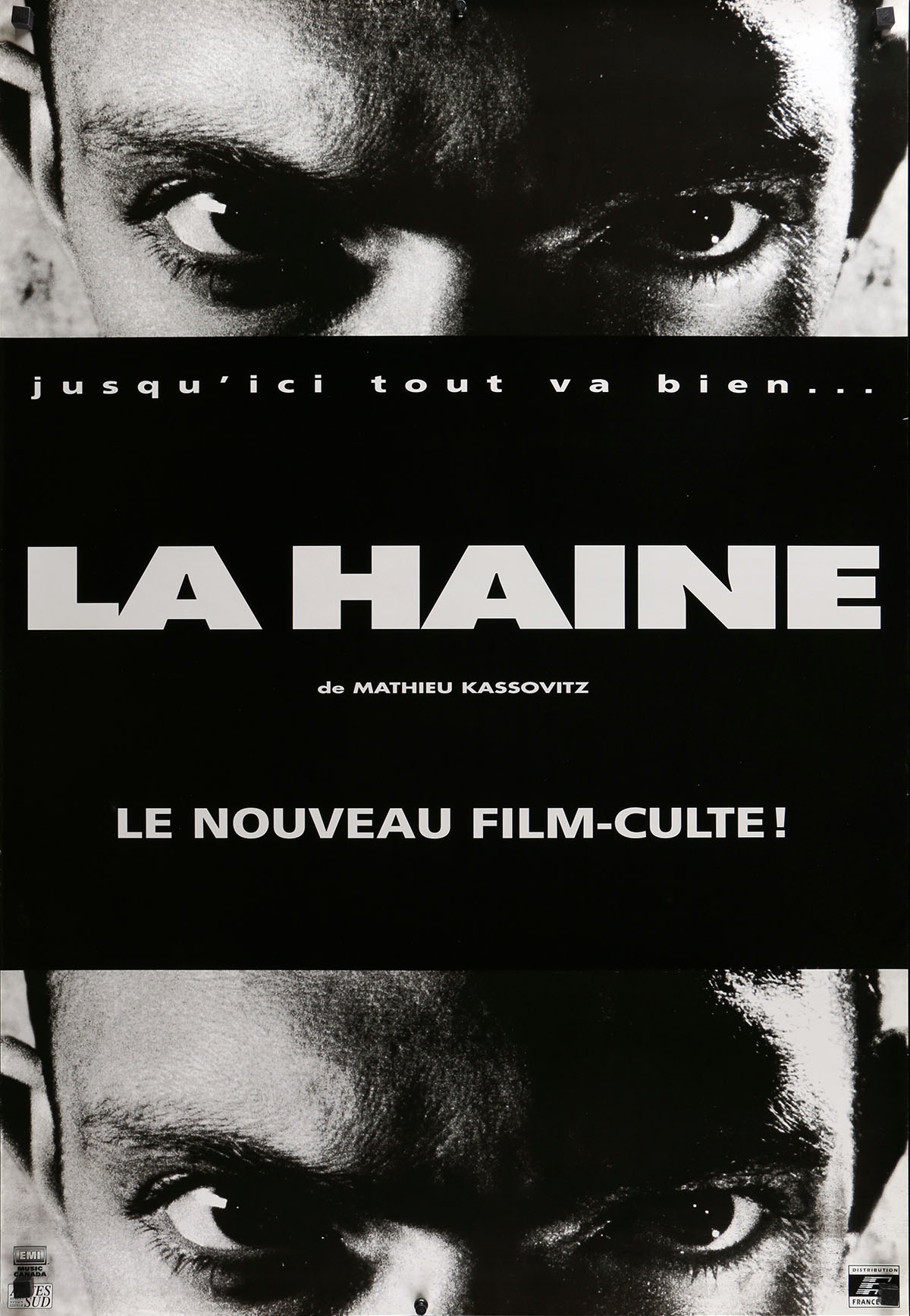 la haine affiche images galleries with a bite. Black Bedroom Furniture Sets. Home Design Ideas