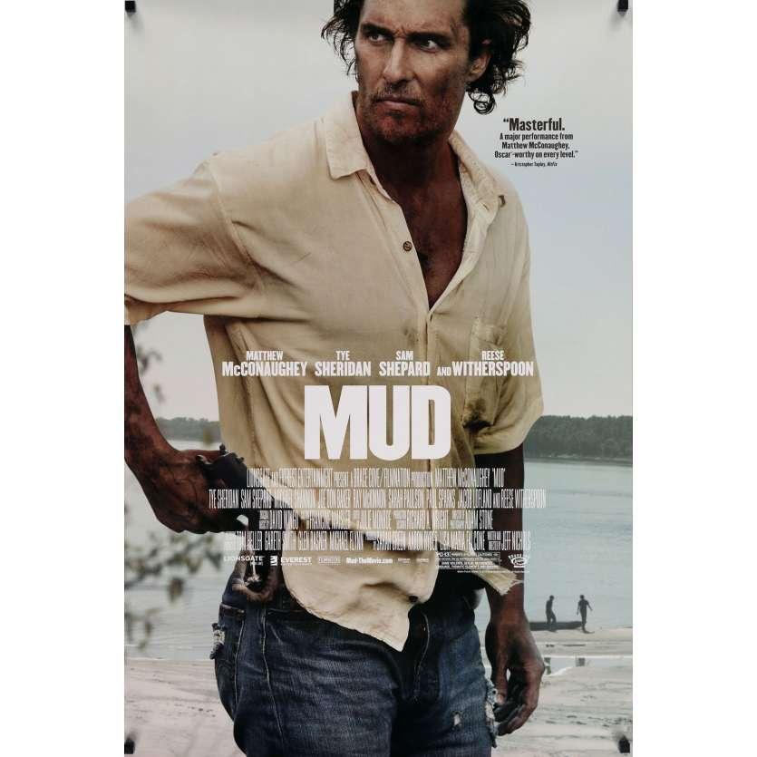 MUD Movie Poster DS 29x41 in. - 2012 - Jeff Nichols, Matthew McConauguey