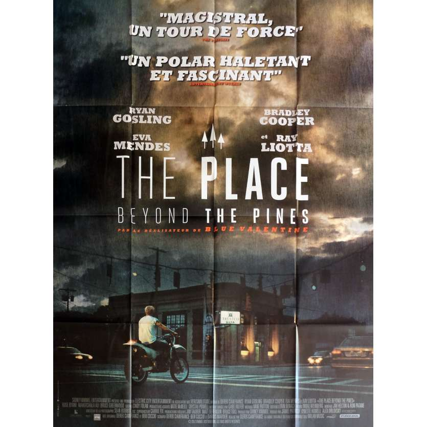 THE PLACE BEYOND THE PINES Affiche de film Prev. 120x160 cm - 2012 - Ryan Gosling, Derek Cianfrance