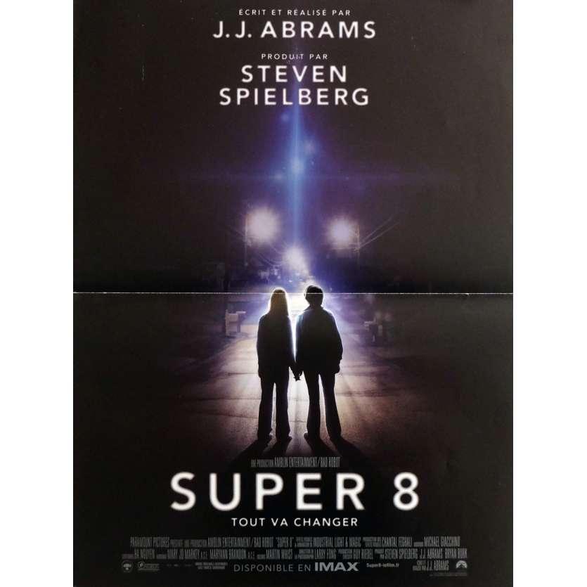 SUPER 8 Affiche de film 40x60 cm - 2011 - Elle Fanning, J. J. Abrams