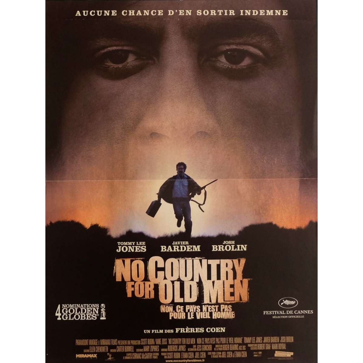 no country for old men movie A gallery of facts and interesting trivia about the coen brothers' 2005 film no  country for olde men.