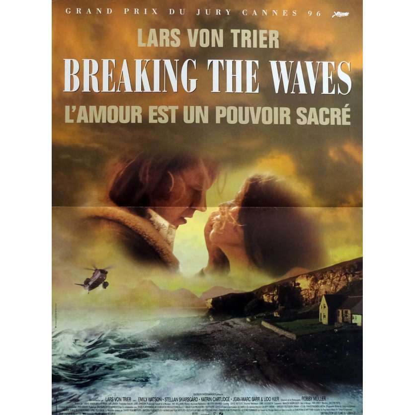 BREAKING THE WAVES Affiche de film 40x60 cm - 1996 - Emily Watson, Lars Von Trier