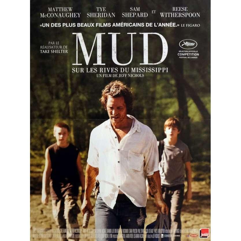 MUD Affiche de film 40x60 cm - 2012 - Matthew McConauguey, Jeff Nichols