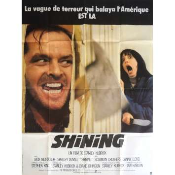 THE SHINING Movie Poster 47x63 in. - 1980 - Stanley Kubrick, Jack Nicholson