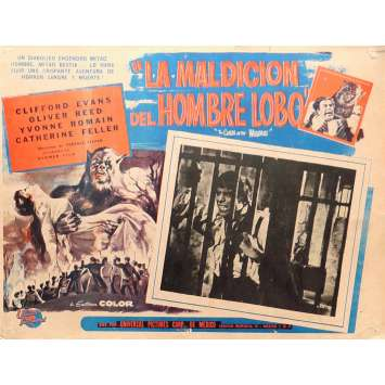 THE CURSE OF THE WEREWOLF Lobby Card 13x16,5 in. - 1961 - Terence Fisher, Oliver Reed
