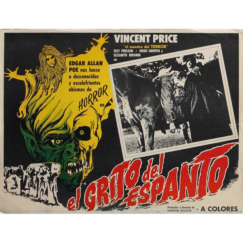 LES CROCS DE SATAN Photo de film 32x42 cm - 1970 - Vincent Price, Gordon Hessler