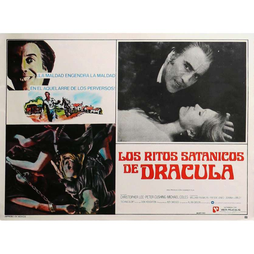 DRACULA VIT TOUJOURS A LONDRES Photo de film N1 32x42 cm - 1973 - Christopher Lee, Alan Gibson