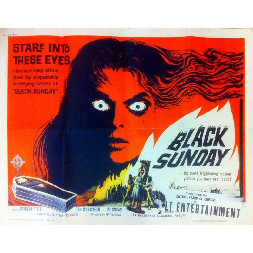 LE MASQUE DU DEMON Affiche du film - 55x71 cm - 1961