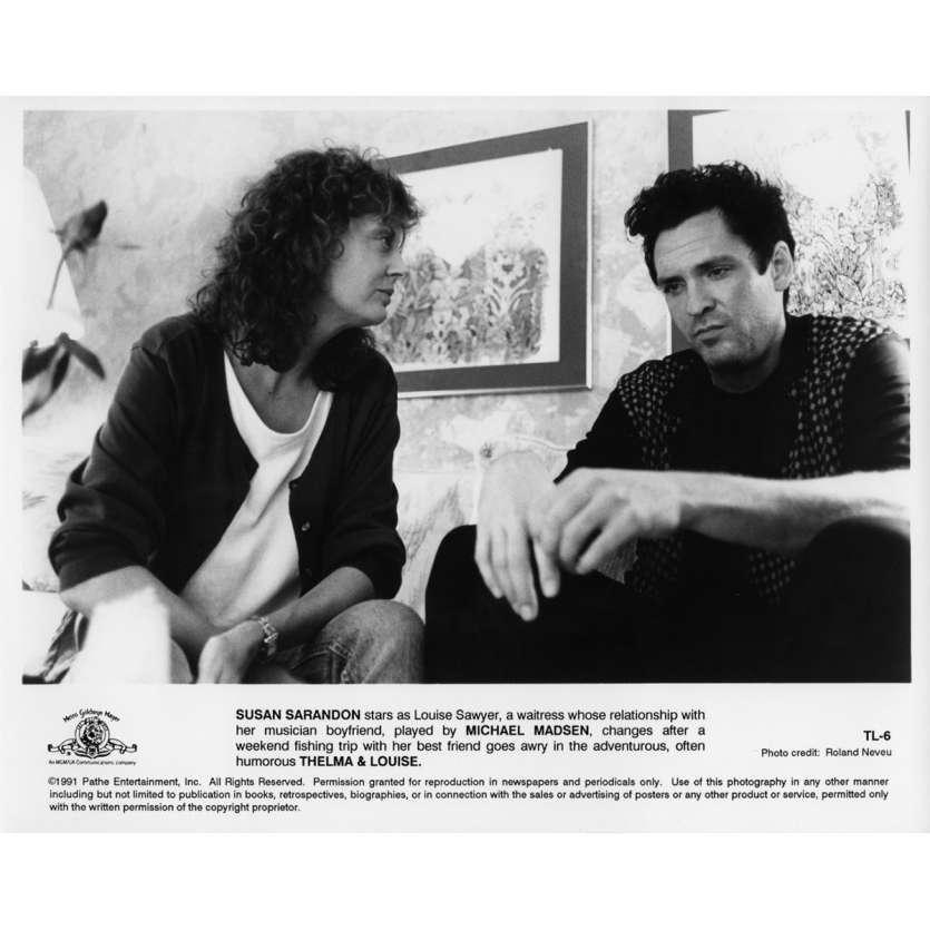 THELMA ET LOUISE Photo de presse N06 20x25 cm - 1991 - Geena Davis, Ridley Scott