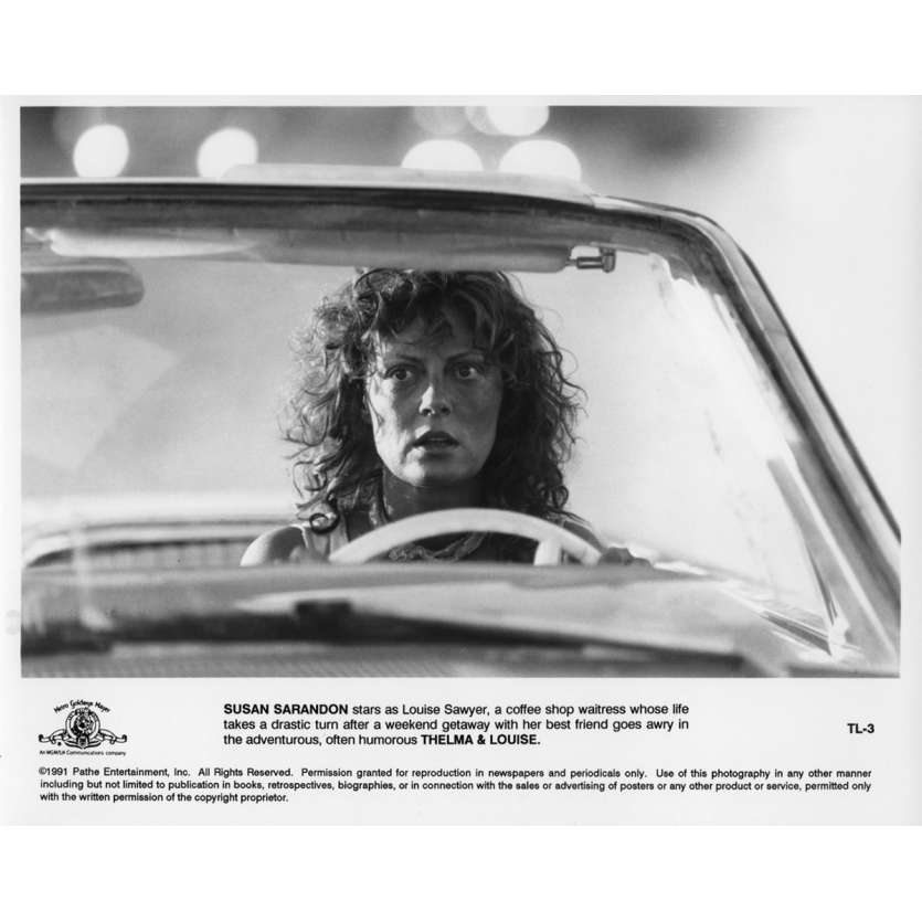 THELMA AND LOUISE Movie Still N03 8x10 in. - 1991 - Ridley Scott, Geena Davis