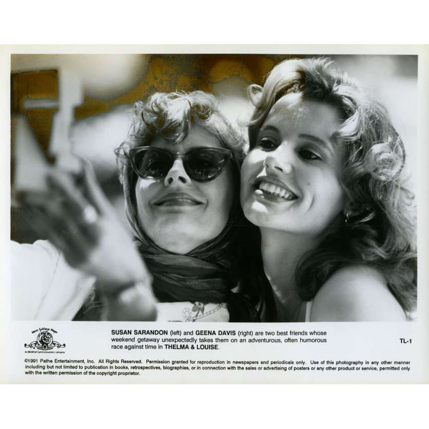 THELMA AND LOUISE Movie Still N01 8x10 in. - 1991 - Ridley Scott, Geena Davis