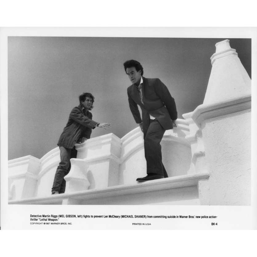 LETHAL WEAPON Movie Still N07 8x10 in. - 1987 - Richard Donner, Mel Gibson
