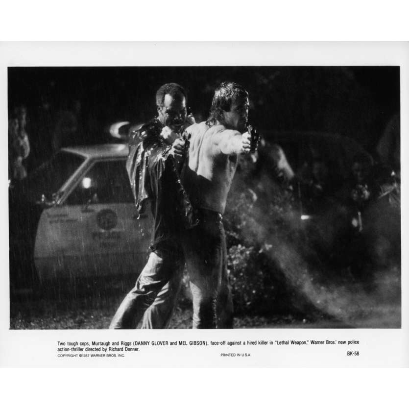 LETHAL WEAPON Movie Still N06 8x10 in. - 1987 - Richard Donner, Mel Gibson