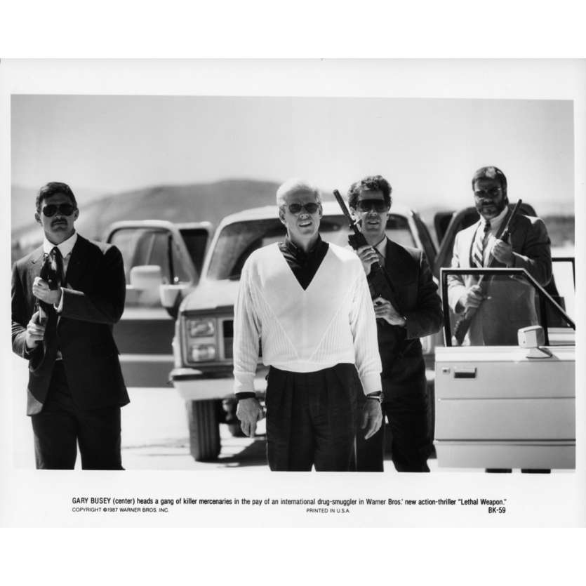 LETHAL WEAPON Movie Still N03 8x10 in. - 1987 - Richard Donner, Mel Gibson