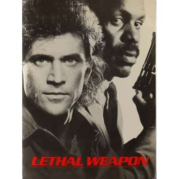 LETHAL WEAPON Presskit 8x10 in. - 1987 - Richard Donner, Mel Gibson