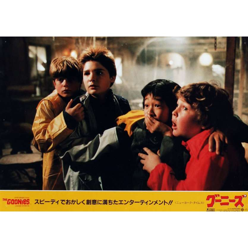 LES GOONIES Photo de film N04 28x36 cm - 1985 - Sean Astin, Richard Donner