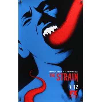 STRAIN Affiche TV 53x84 cm - 2015 - Chuck Hogan, Guillermo Del Toro