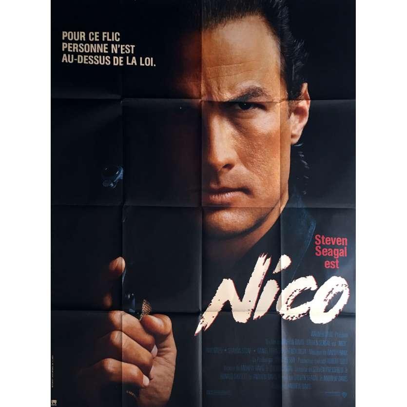 NICO Affiche de film 120x160 cm - 1988 - Steven Seagal, Andrew Davis