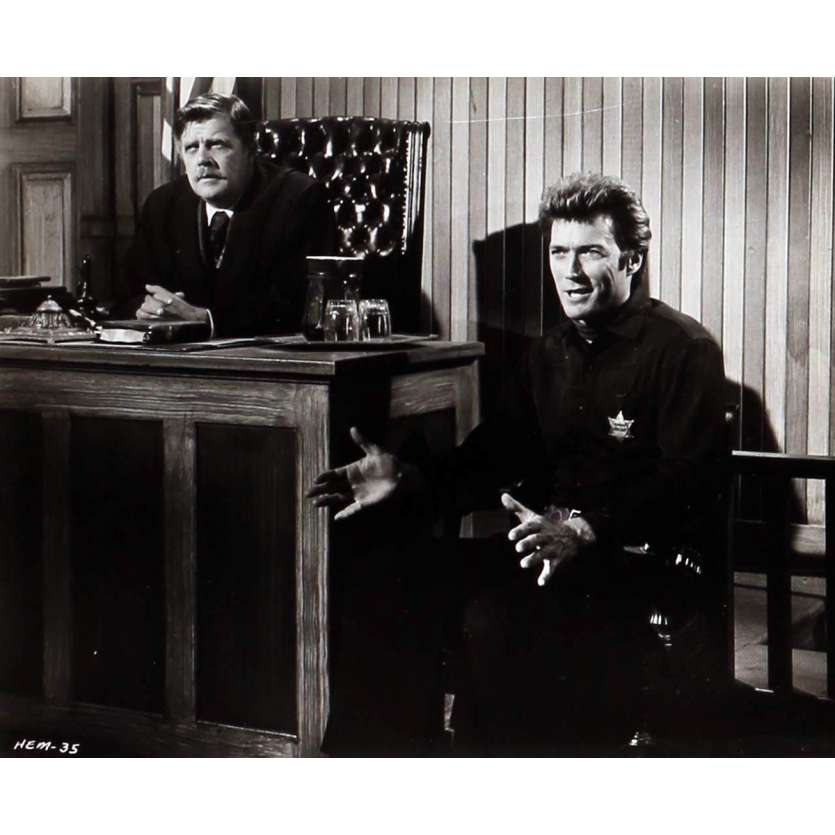 PENDEZ LES HAUT ET COURT Photo de presse N05 20x25 cm - 1968 - Clint Eastwood, Ted Post