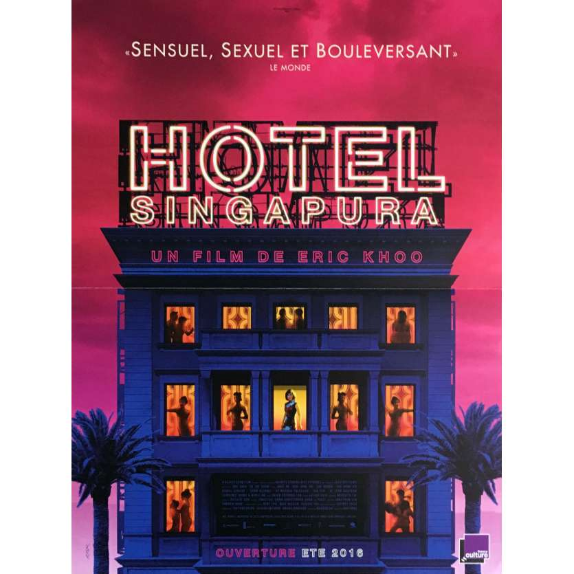 HOTEL SINGAPURA Affiche de film 40x60 cm - 2015 - Francis Bosco, Eric Khoo