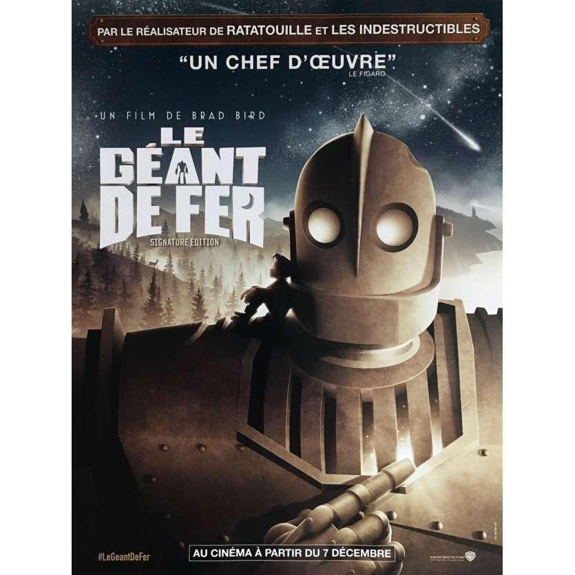 LE GEANT DE FER Movie Poster 15x21 in. - R2016 - Brad Bird, Jennifer Aniston